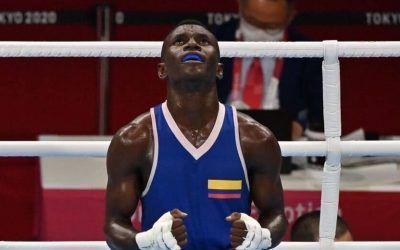 Boxeador Colombiano pierde la posibilidad de ganar medalla
